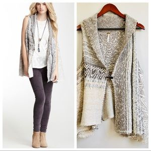 Free People Boho In your arm cardigan vest